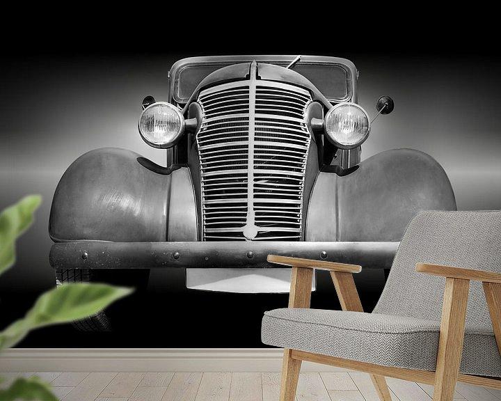 Sfeerimpressie behang: Amerikaanse klassieke auto Master 1938 van Beate Gube