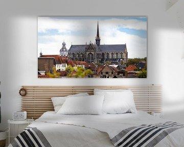 La ligne d'horizon de la ville zélandaise de Goes sur Fotografie in Zeeland