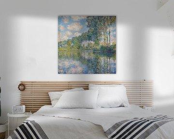 Pappeln auf der Epte, Claude Monet