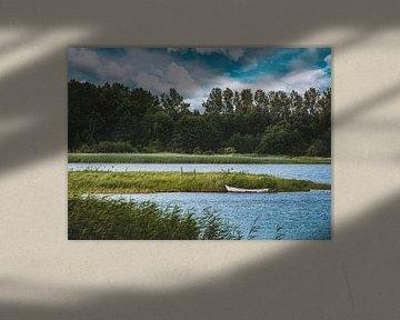 Kleine boot van Yann Mottaz Photography