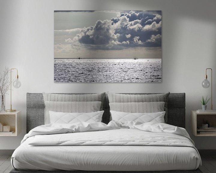 Sfeerimpressie: Vissersboten Waddenzee van Miranda van Hulst