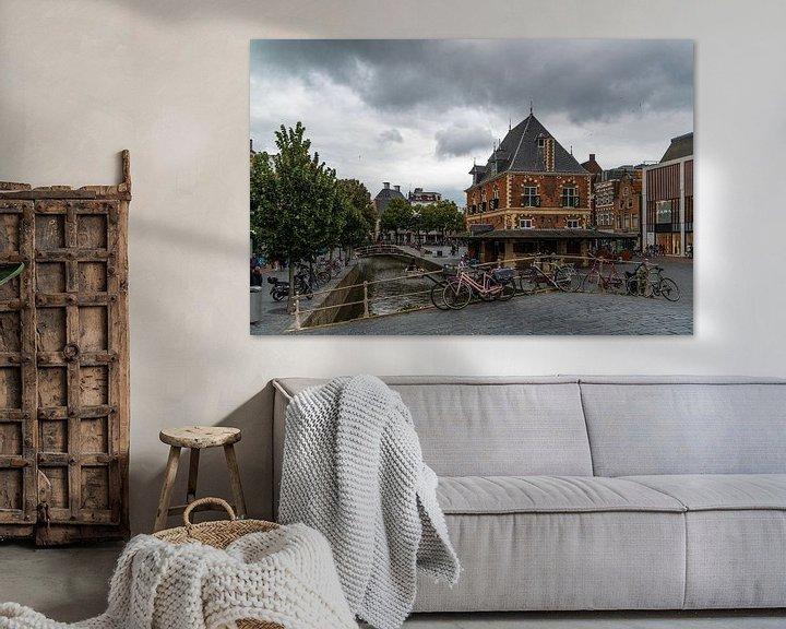 Sfeerimpressie: Leeuwarden, Nieuwestad van Ingrid Aanen