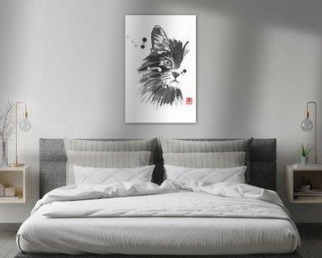 halbe Katze von philippe imbert