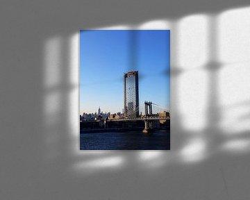 Manhattan Bridge van Renate Ridderhof