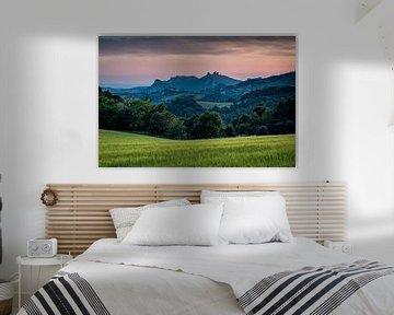 Twilight Provence, France