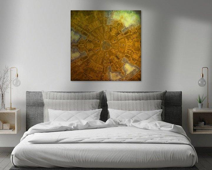 Sfeerimpressie: Bruin-Geel van Carla van Zomeren