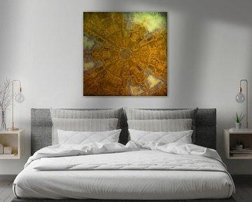 Braun-Gelb von Carla van Zomeren