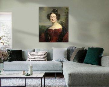 Catharina Annette Fraser (1815-92), Jan Adam Kruseman.