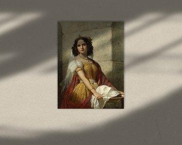 Salome mit dem Kopf von Johannes dem Täufer, Jan Adam Kruseman
