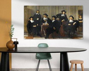 Die Regenten des Spinhuis und Nieuwe Werkhuis in Amsterdam, Karel du Jardin.