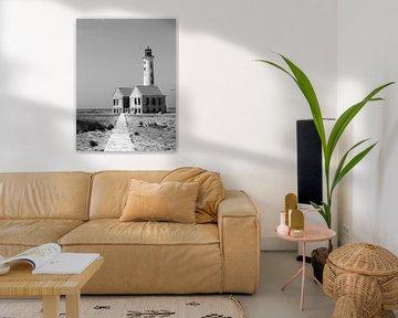 Verlassener Leuchtturm, Kleines Curacao von Cardi Verschoor