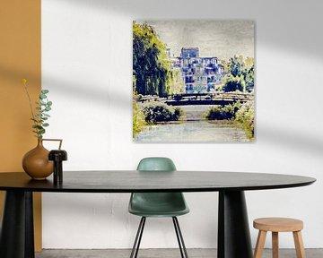 Groenrijke Bergse Plaat (Bergen op Zoom, Brabant) (kunst) van Art by Jeronimo