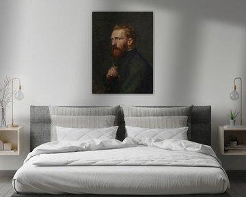 Vincent van Gogh von John Peter Russell - 1886