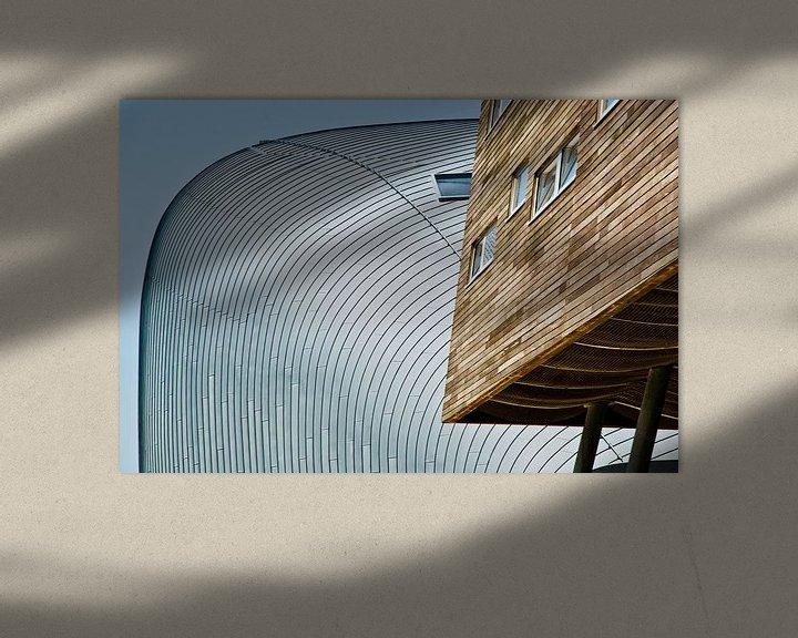 Sfeerimpressie: Strakke lijnen in Almere van Tammo Strijker