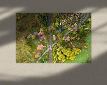 Luftbild Schweden von Jeroen Kleiberg