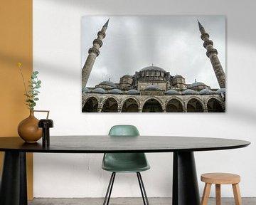 Moskee in Istanbul van Rob Bleijenberg