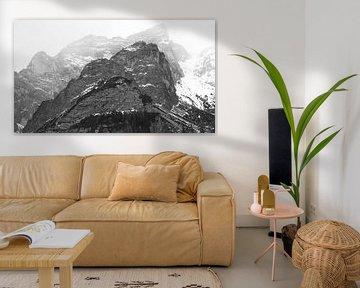 Berggipfel von Delano Balten