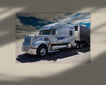 Freightliner 122SD Truck, Amerikaanse truck van Gert Hilbink
