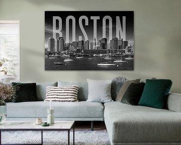 BOSTON Skyline von Melanie Viola