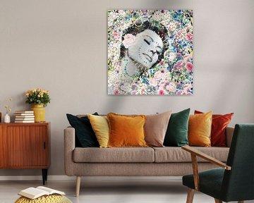 Sophia Loren Kunstwerk von Giovani Zanolino