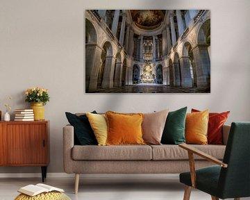 Kapelle im Schloss von Versailles von Bas Fransen