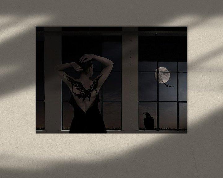 Sfeerimpressie: The moon asked the crow van Jenny de Groot