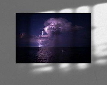 Onweer op zee van Heleen Middel