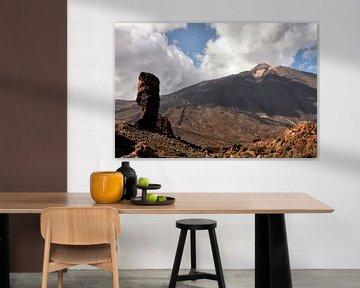 Espagne Tenerife - Vue du Pico del Teide sur Marianne van der Zee