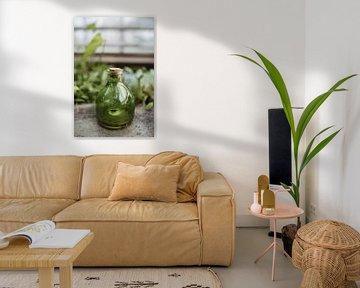 Glazen pot | Moody fotografie van Leathitia Zegwaard