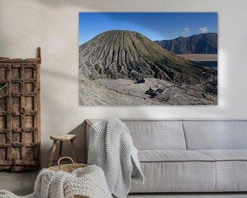 Uitzicht van Bromo vulkaan van Jeroen Meeuwsen