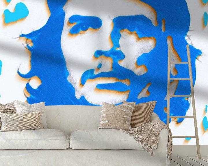 Beispiel fototapete: Che Guevara 3 D Paper Art von Felix von Altersheim