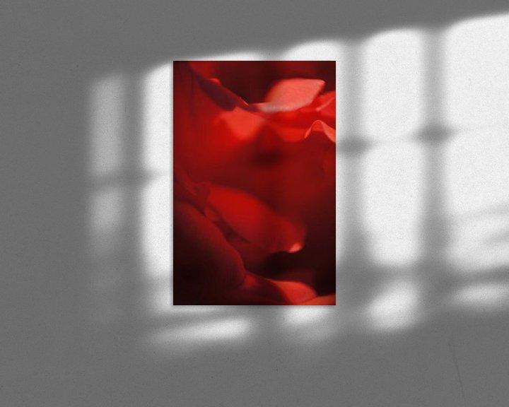 Beispiel: Rose III von Tina Hartung