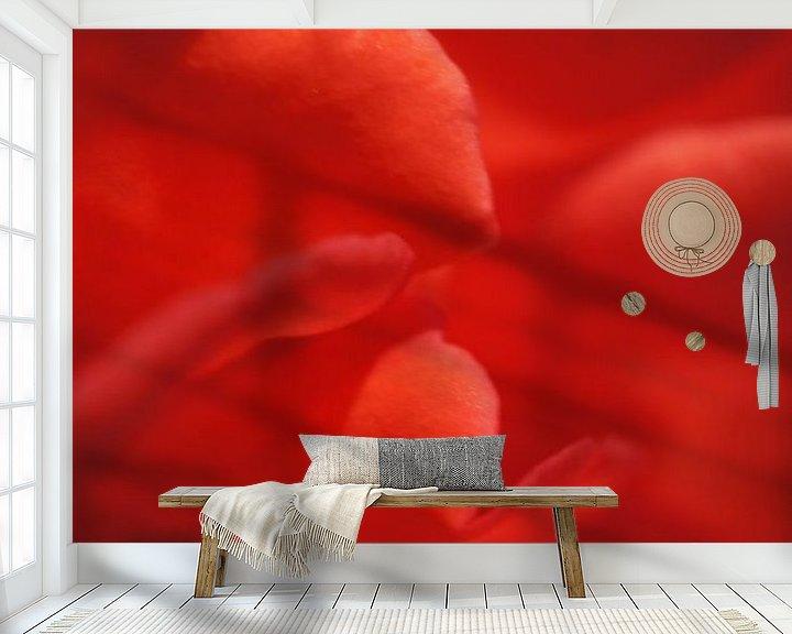 Beispiel fototapete: Rose I von Tina Hartung