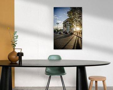 Arc de Triomphe Paris van MaxDijk Fotografie shop