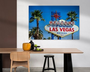 Welkoms bord Las Vegas! van Jeroen Somers
