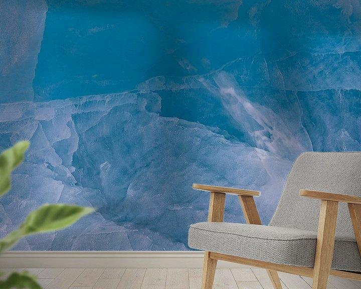 Sfeerimpressie behang: IJs van dichtbij van Frits Hendriks