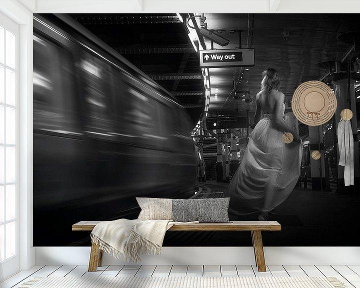 Sfeerimpressie behang: Way out van Arjen Roos