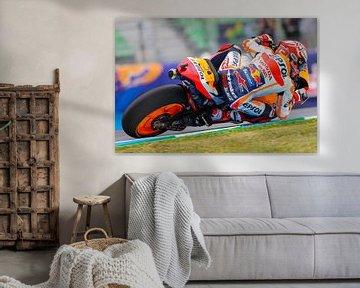 MotoGP Jerez Espagne sur Marco Dek