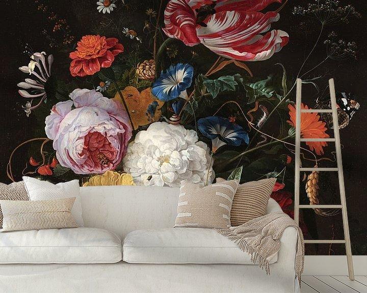 Beispiel fototapete: Blumenarrangement, Jan Davidsz. de Heem