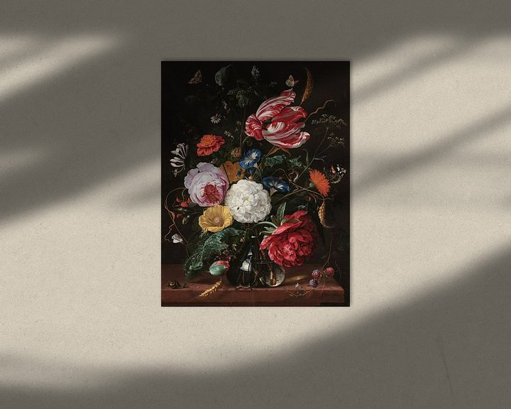 Beispiel: Blumenarrangement, Jan Davidsz. de Heem