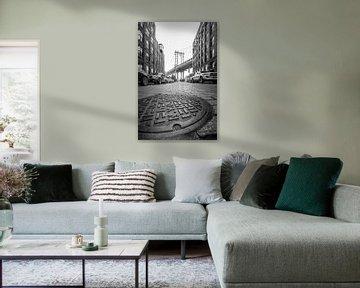 Manhattan bridge van Hans van der Grient