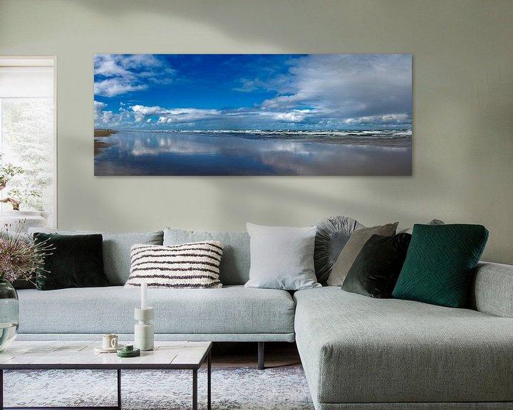 Beispiel: Blick auf den Strand bei Flut. von Marcel Pietersen