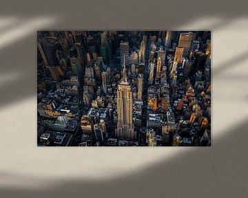 Empire State Building van boven