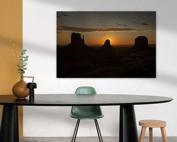 Monument Valley, Navajo Tribal Park. Arizona, USA. von Gert Hilbink