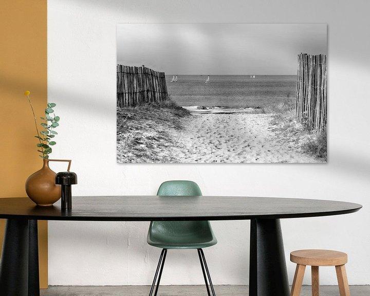 Beispiel: Die Straße zum Strand von Mark Bolijn