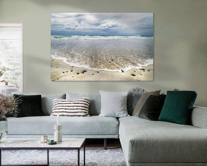 Sfeerimpressie: Mooie wolken boven zee van Mark Bolijn
