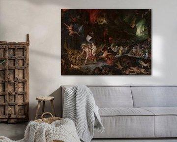 Christi Abstieg in den Limbus, Jan Brueghel der Ältere, Hans Rottenhammer