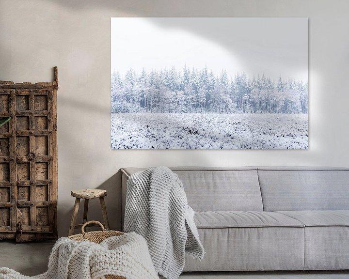 Impression: La nature en blanc sur Albert Lamme
