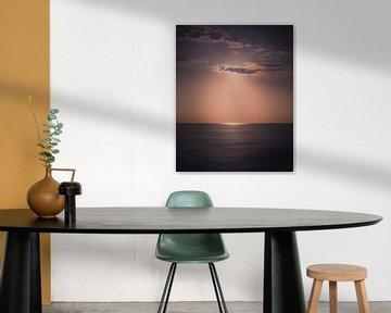 Sunshine clouds van Sandra Hazes