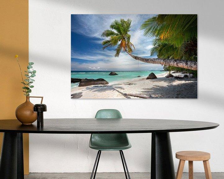 Beispiel: Der schönste tropische Strand auf den Seychellen von Krijn van der Giessen